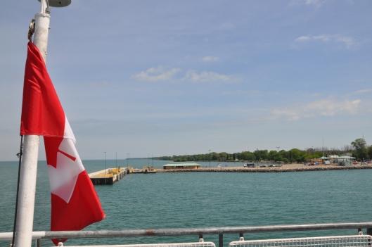 We reach the Island docks.